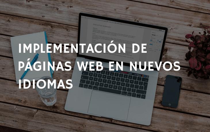 implementacion web idiomas