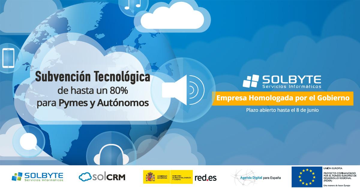 Qué son las soluciones Cloud- Solbyte CRM Subvención Gobierno