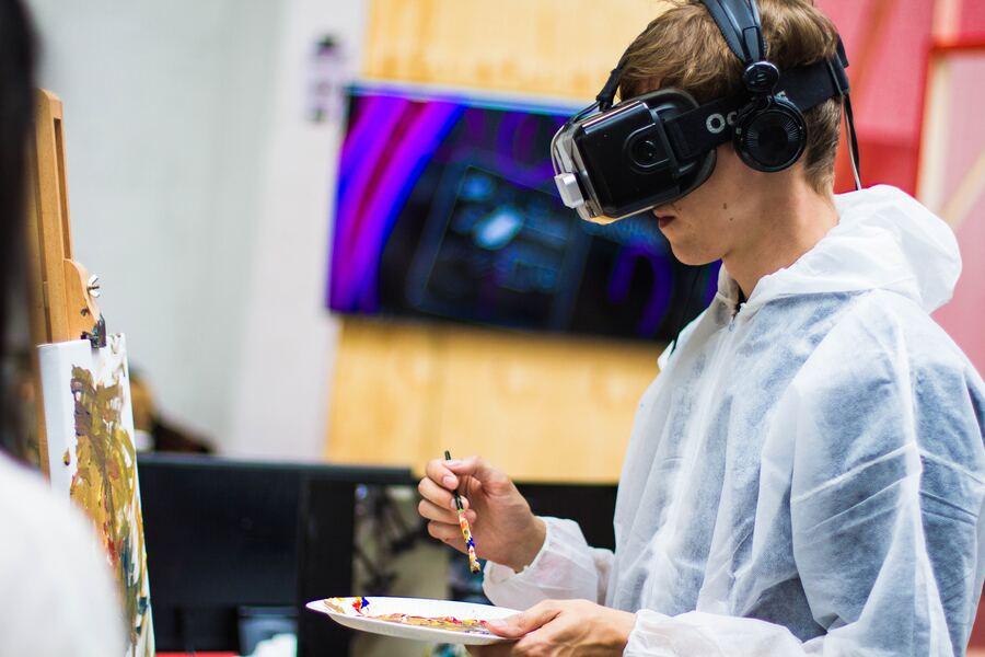 Realidad virtual mas que una imagen detras de la pantalla
