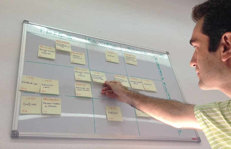 Scrum Manager en Solbyte para proyectos de desarrollo de software