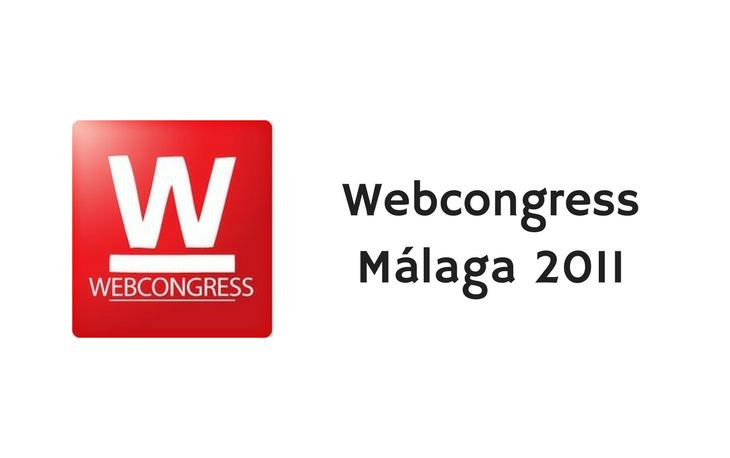 web congress malaga 2011 logo