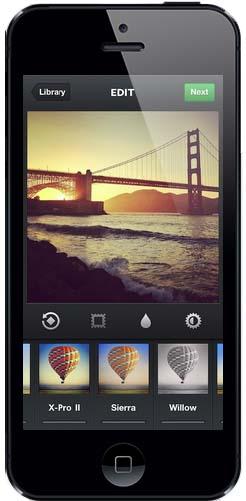 app movil hibrida Instagram