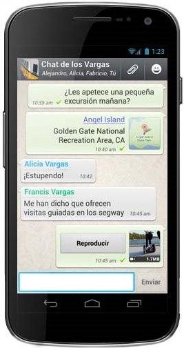 app movil nativa Whatsapp