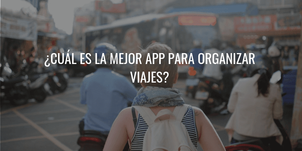 app para organizar viajes