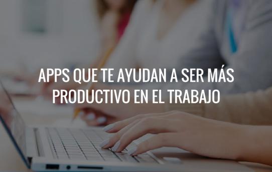 apps productivas para trabajar