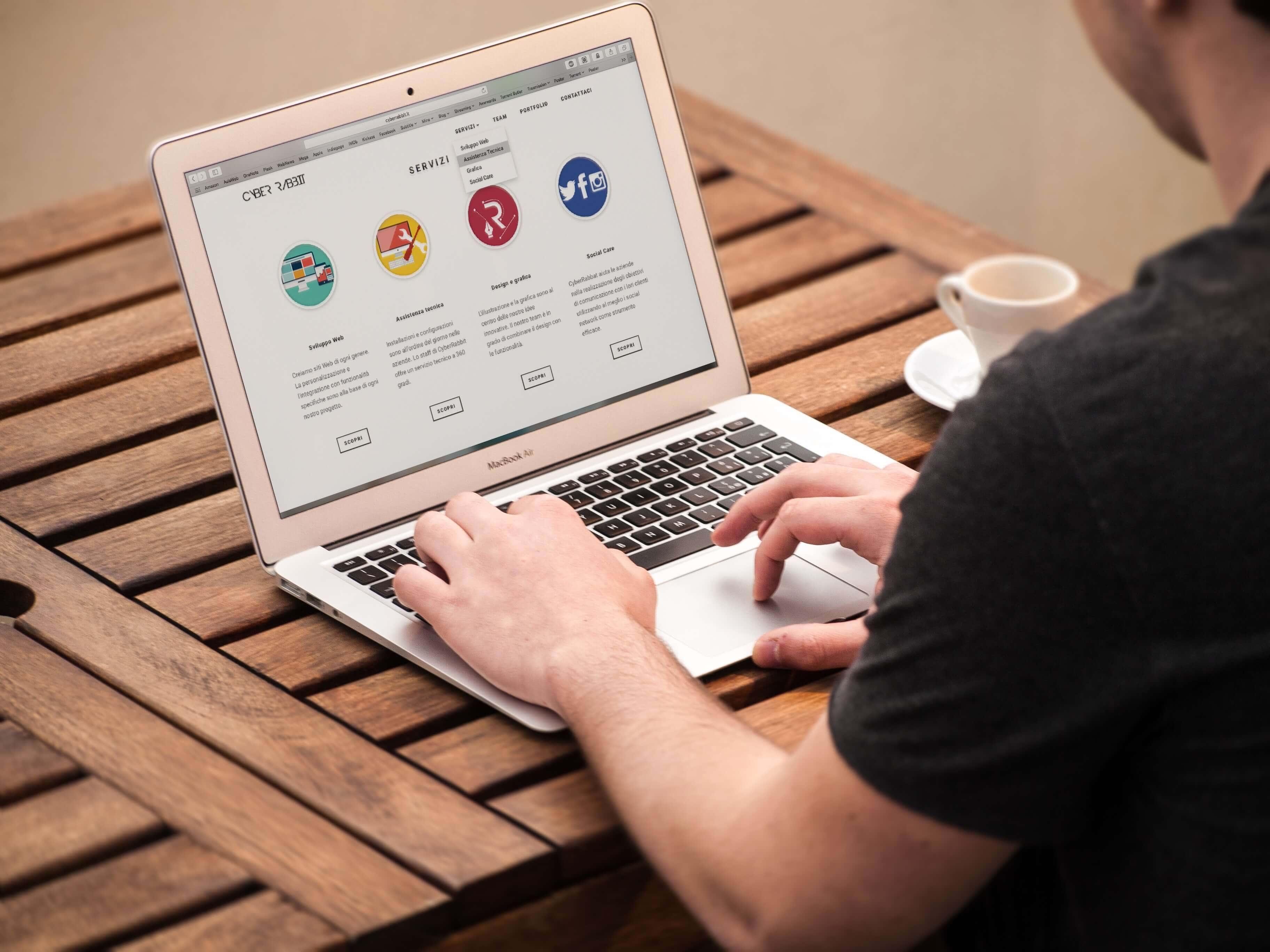 primera web de tu negocio