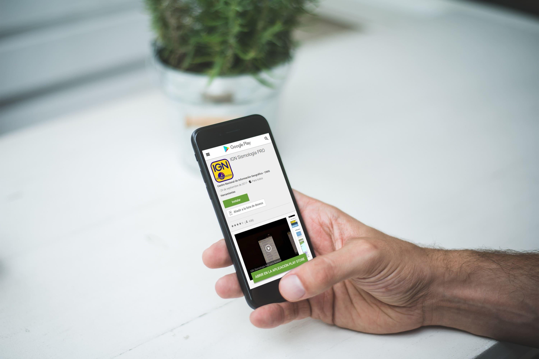 informacion sismica app