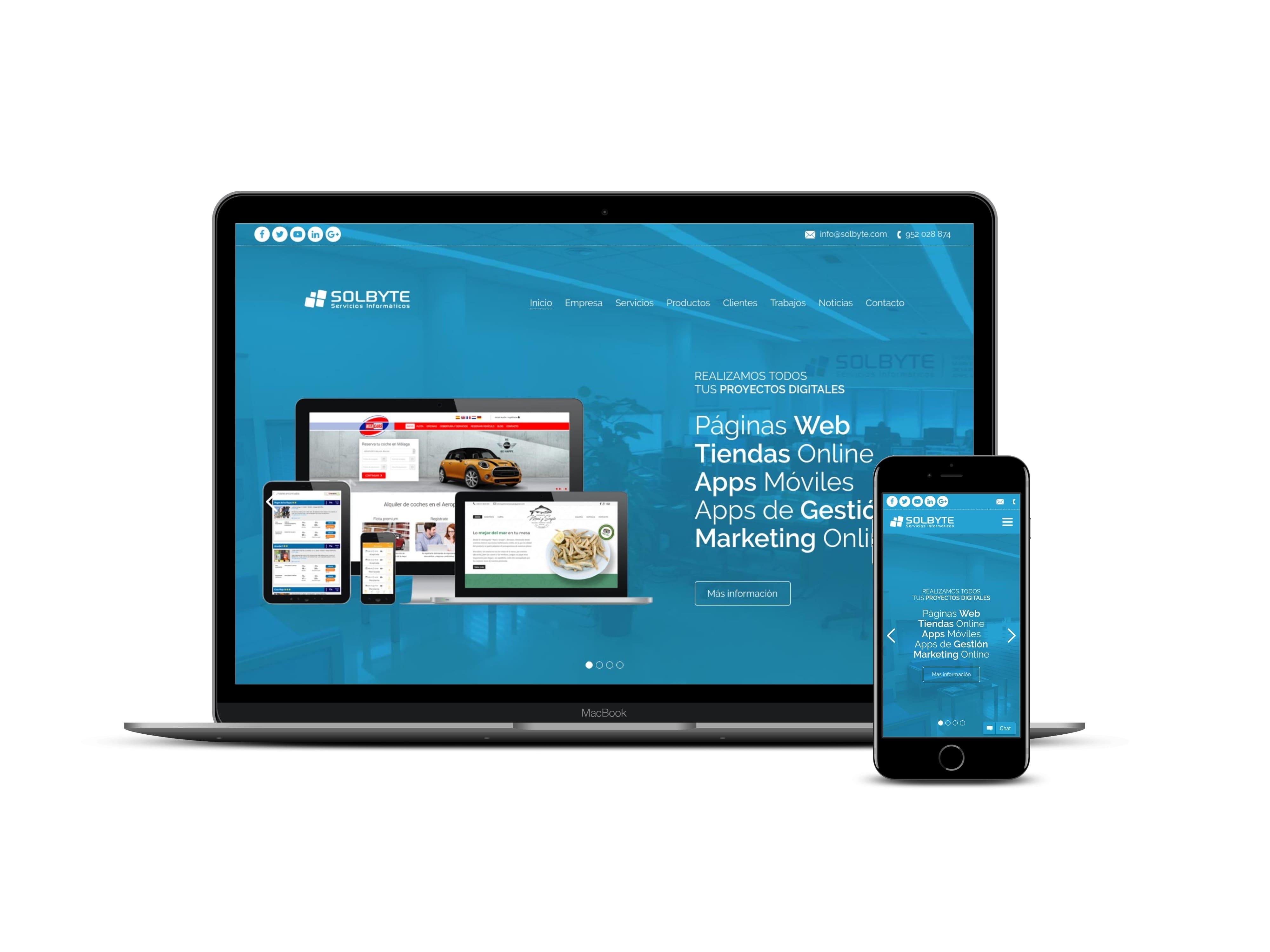 web responsive imagen