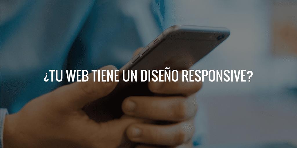tu web tiene un diseño responsive