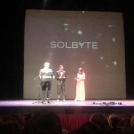 José Ferrer recibe el reconocimiento como primer finalista en Premios Málaga AJE 2015