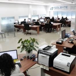 Oficina de Solbyte Servicios Informáticos