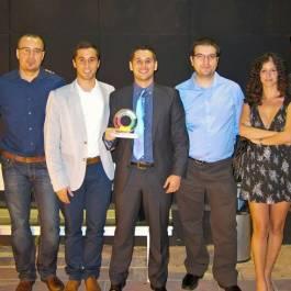 Solbyte recibe el Premio Málaga Joven en la categoría de Economía y Empleo, 2012