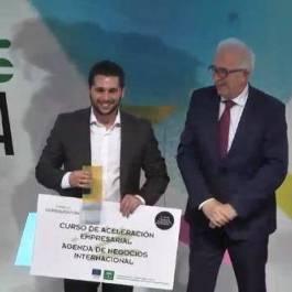 José Ferrer recibe el Premio Andalucía Emprende 2015