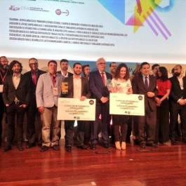 Foto de familia de los Premios Autonómicos Andalucía Emprende 2015