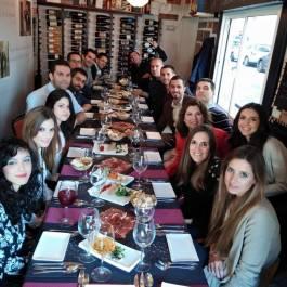 Cena de Navidad 2014 del equipo de Solbyte