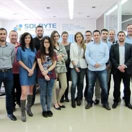 Equipo de Solbyte en abril de 2015
