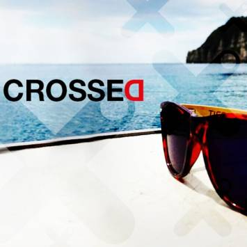 Crossed Sunglasses