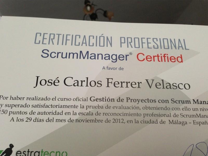 Solbyte se certifica en Scrum Manager para la gestión de proyectos software