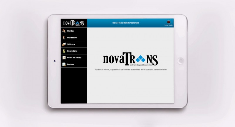 Solbyte desarrolla la versión para iPad de Novatrans