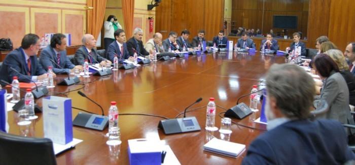 Solbyte, en el Parlamento Andaluz con la Comisión de Innovación Europea