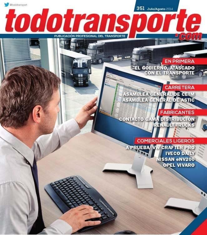 Novatrans, nuestro software de gestión de flotas, en la revista TodoTransporte