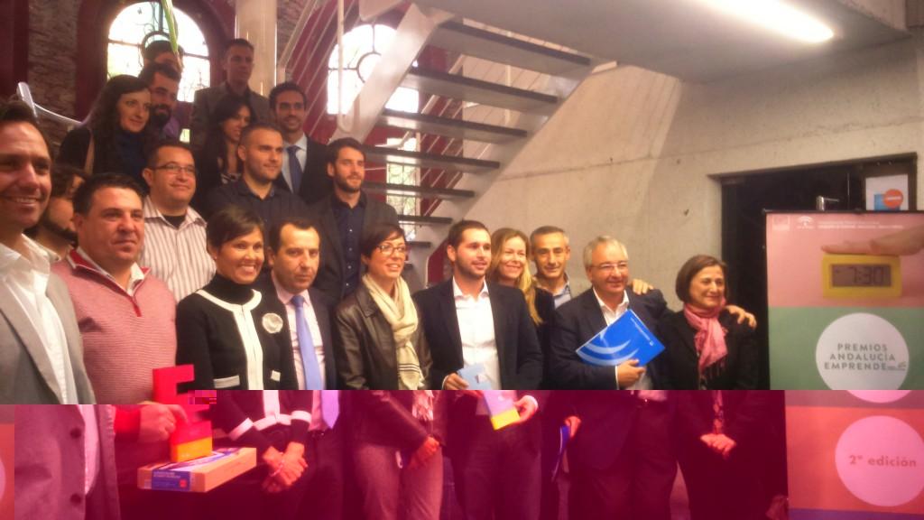 Solbyte, ganadora provincial de los II Premios Andalucía Emprende 2014 en la categoría Consolida