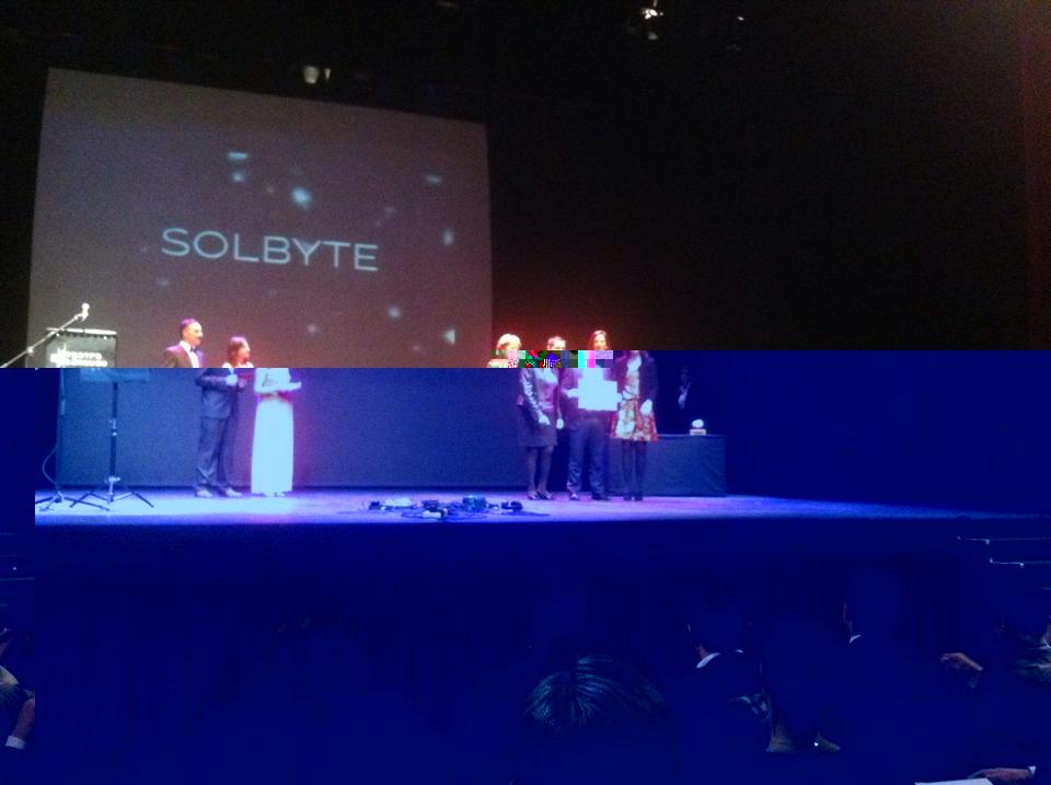 Solbyte, primera finalista en los Premios AJE Málaga 2015 en la categoría Trayectoria Empresarial
