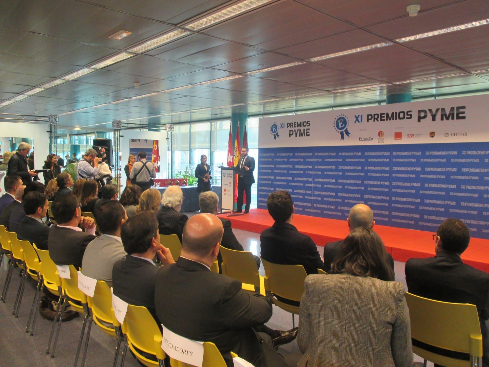 José Ferrer, CEO de Solbyte, galardonado con el XI Premio Pyme 2015 organizado por Expansión e Ifema