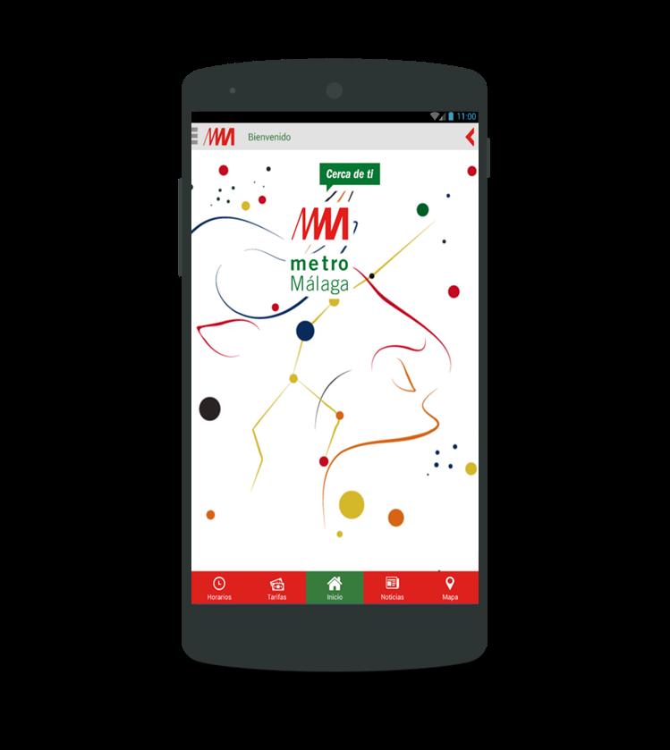 Solbyte desarrolla la app del Metro de Málaga