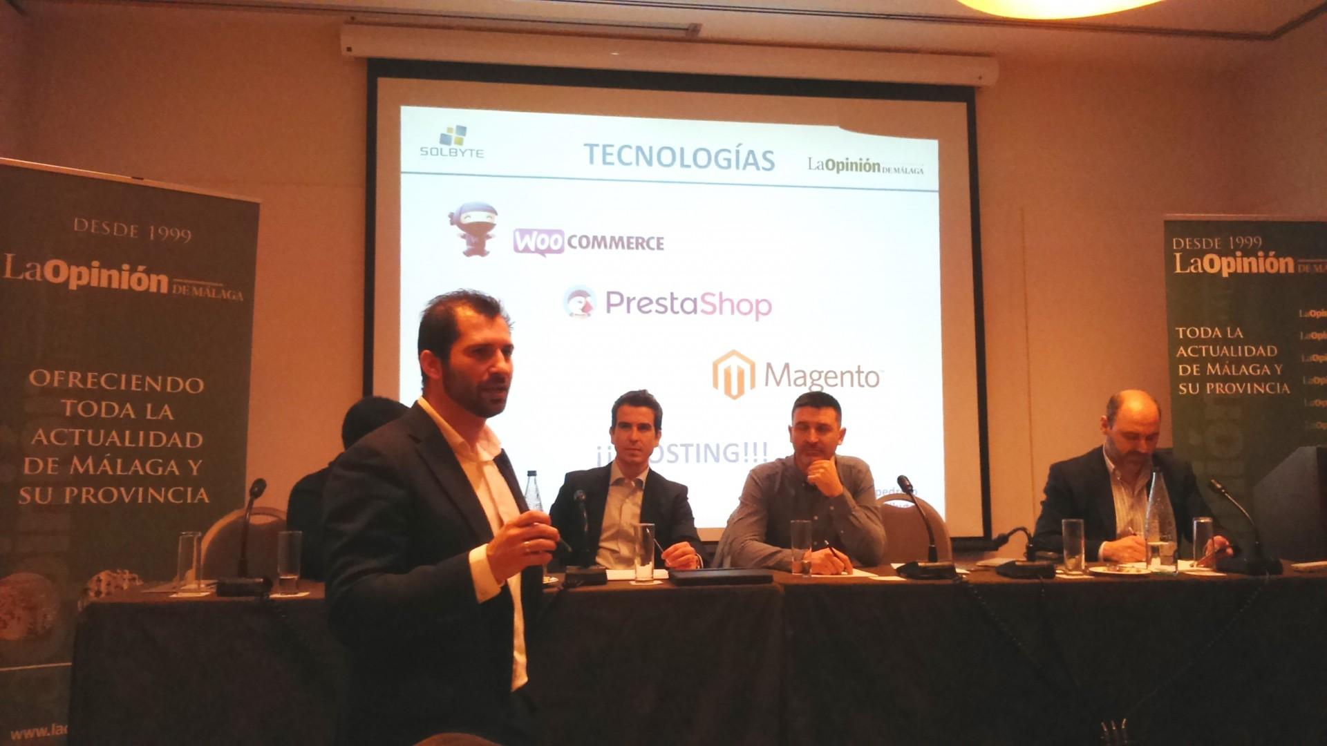 Solbyte, colaboradora del encuentro Málaga, ciudad eCommerce