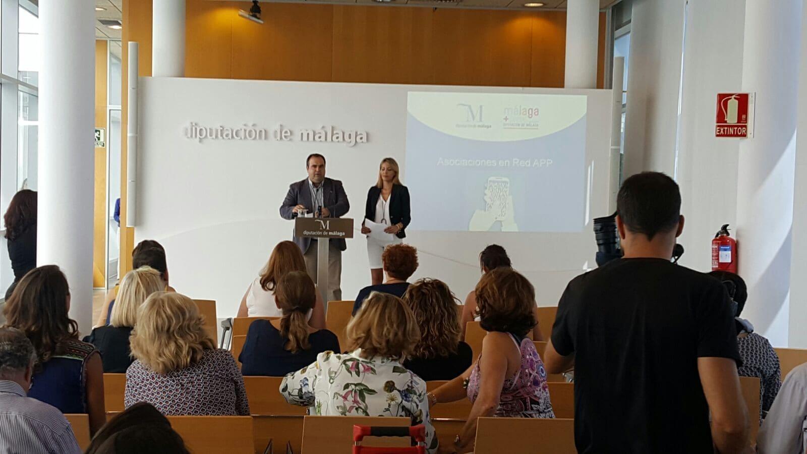 La Diputación de Málaga presenta la App Asociaciones en Red, realizada por Solbyte