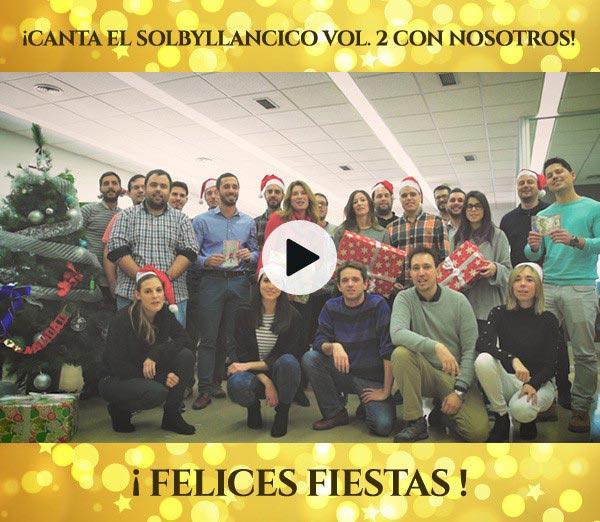 El equipo de Solbyte os deseamos Felices Fiestas y Feliz Año 2017