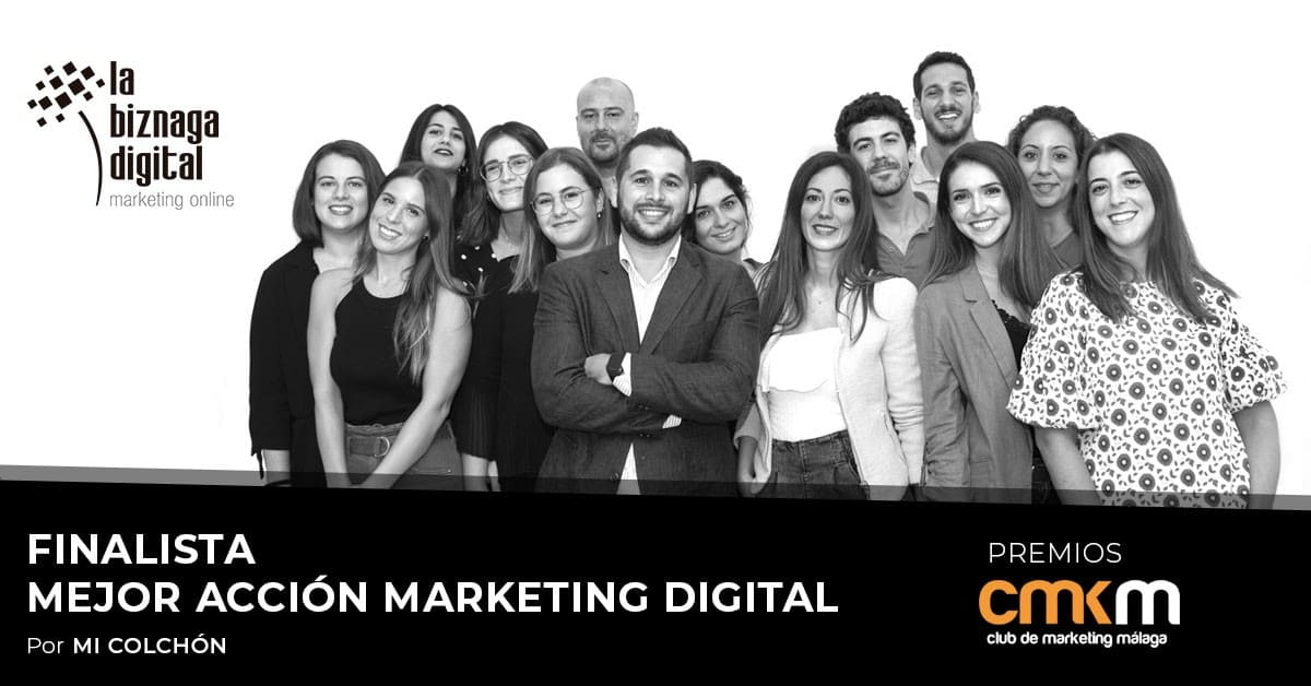 La Biznaga, Agencia de Marketing del Grupo Solbyte, finalista en los Premios del Club de Marketing