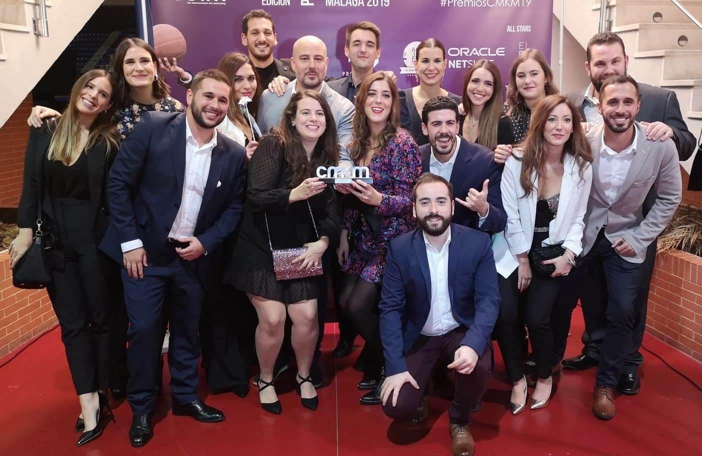 La Biznaga Digital, nuestra Agencia de Marketing Online, Premio Club de Marketing de Málaga 2019