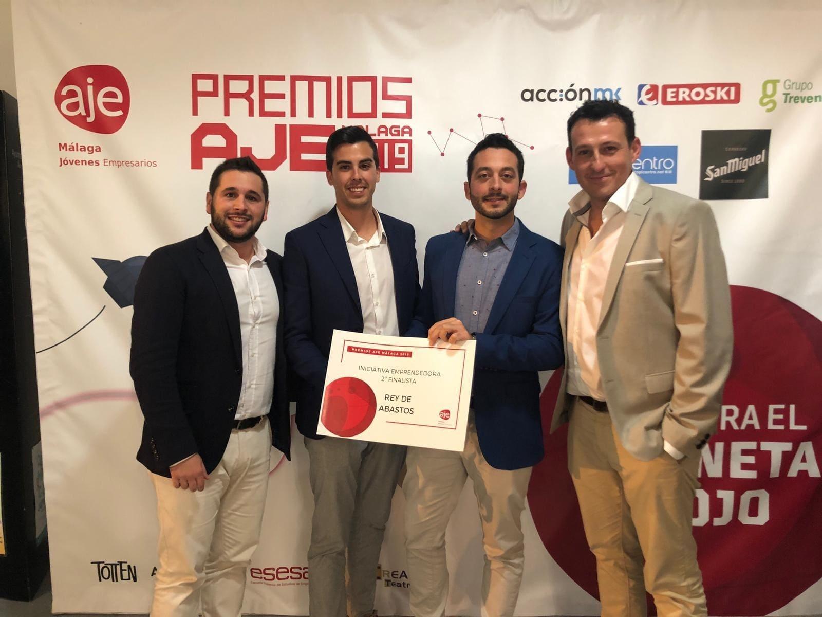 Rey de Abastos, finalista en los Premios AJE Málaga 2019