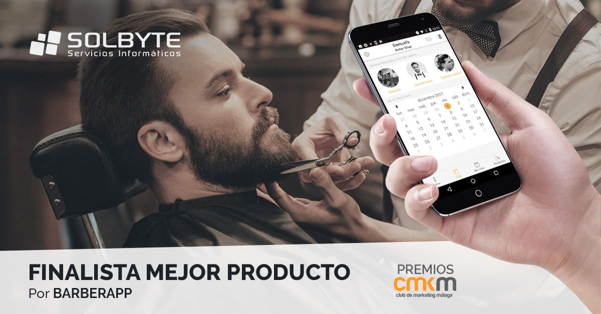 """Solbyte, finalista en los Premios del Club de Marketing de Málaga por """"Mejor Producto"""""""